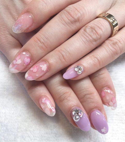 桜ネイル🌸
